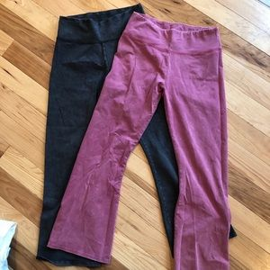 Aerie PINK cropped stretchy pant
